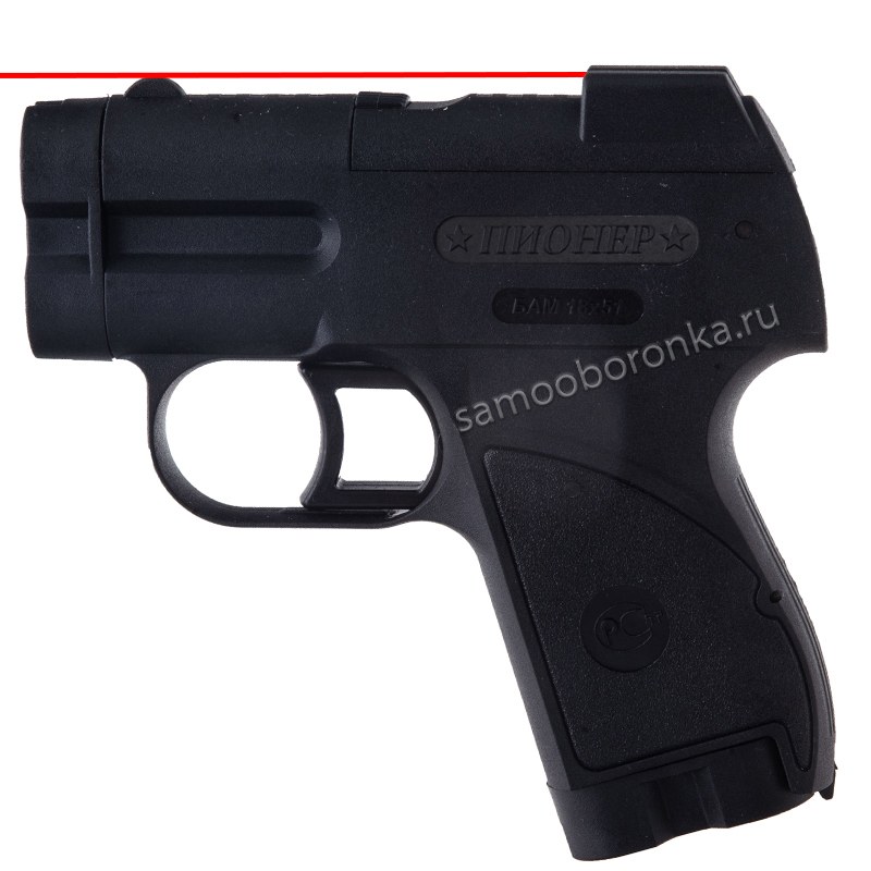 Аэрозольный пистолет Пионер с ЛЦУ